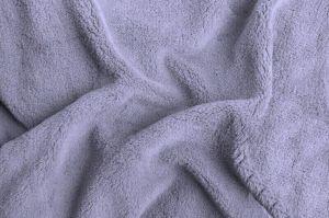 Prostěradlo mikroflanel - šedá (šedofialová)