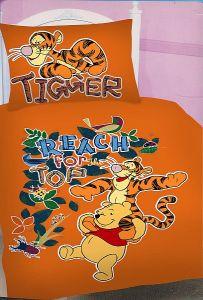 Bavlněné povlečení Medvídek Pů a tygr