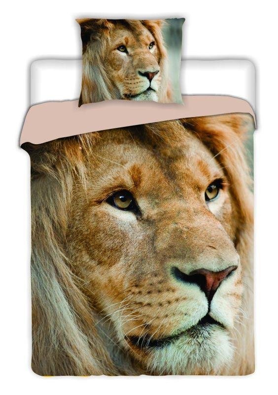 Bavlněné povlečení Lev