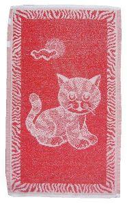 Dětský ručník - Kotě červené