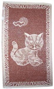 Dětský ručník - Kotě hnědé