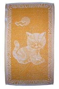 Dětský ručník - Kotě okrové