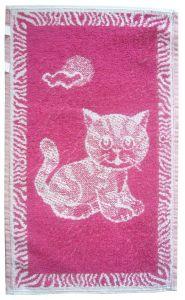 Dětský ručník - Kotě ostružinové