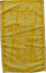 Dětský ručník - Medvídek žlutý