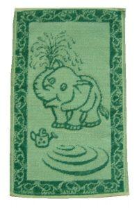 Dětský ručník Sluně zelené, Frotex