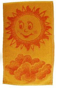 Dětský ručník - Sluníčko oranžové,