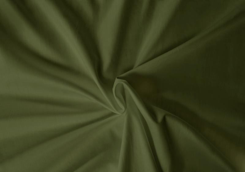 Saténové prostěradlo LUXURY COLLECTION olivové