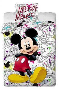 Bavlněné povlečení Mickey grey